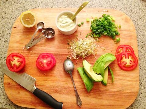 Green goddess burger ingredients
