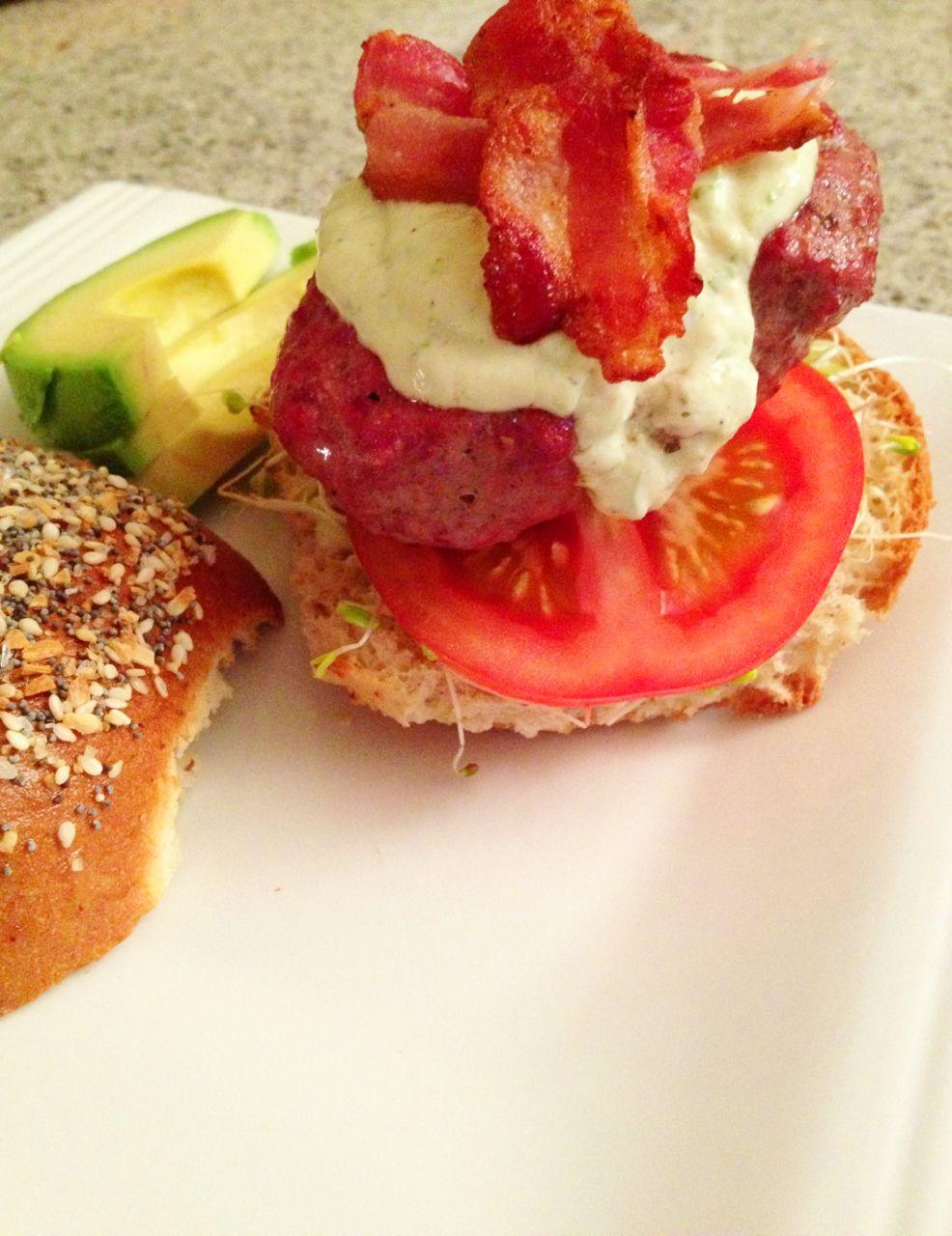 Green goddess garden burger recipe