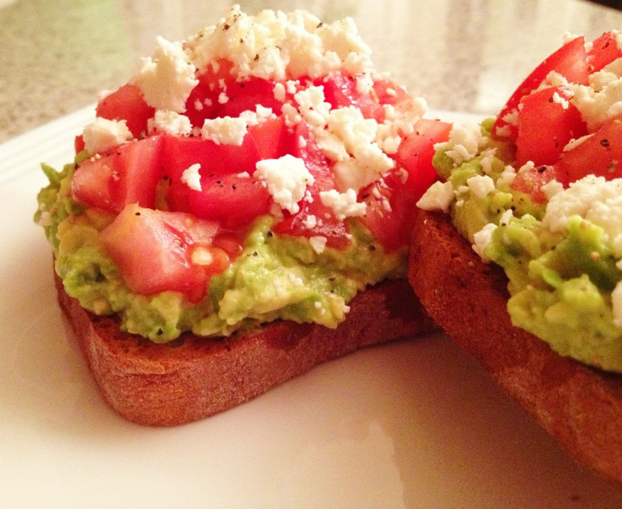 greek-avocado-toast