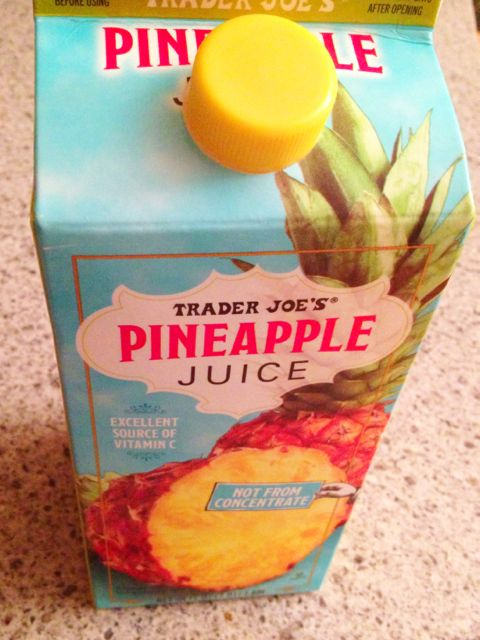 Trader Joe's Pineapple Juice