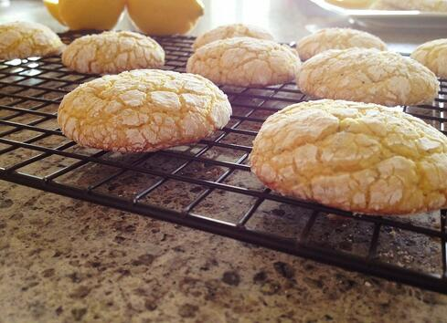 Easy lemon poppy seed cookie recipe