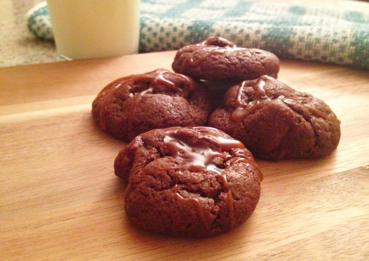 Salted caramel mocha cookie recipe
