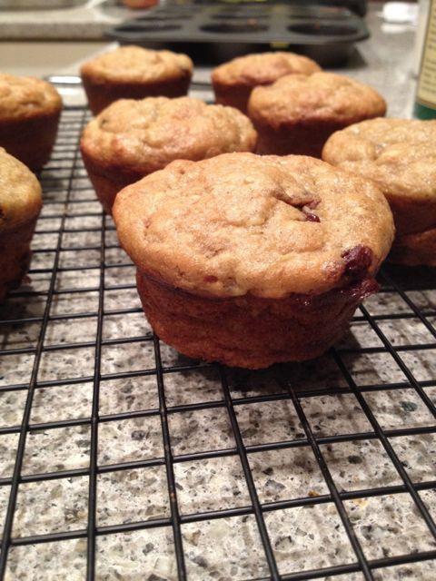gluten free banana bread muffins
