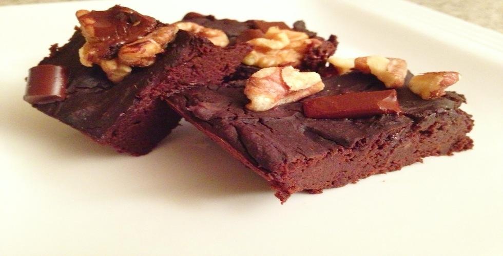 Healthy Chocolate Black Bean Brownies
