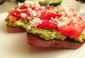 Greek Avocado Toast Recipe