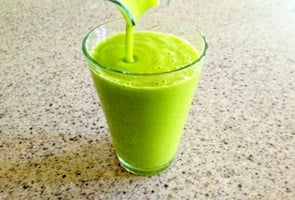 Energy Boosting Green Smoothie