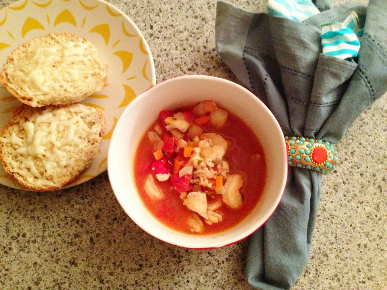 Fishermans soup dinner recipe